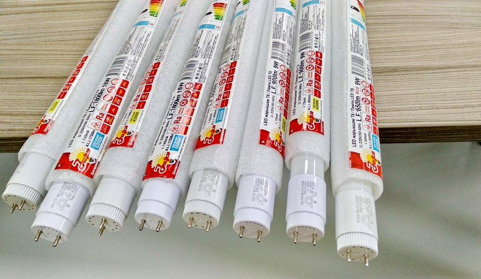 В продажу поступили LED лампы Т8 с цоколем G13